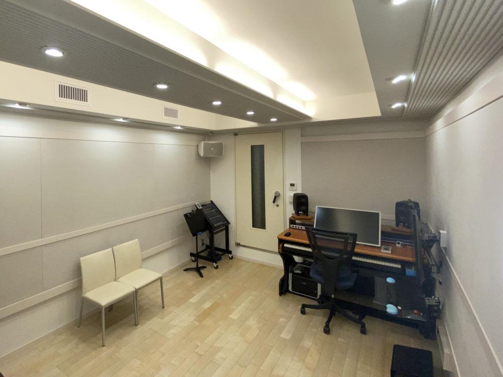 綱島のレコーディングスタジオ/ドラム等の大音量の楽器収録や演奏配信も可