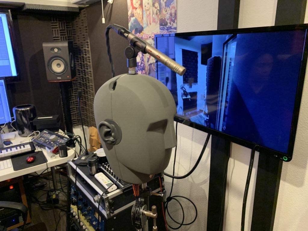 3D音響レコーディングに欠かせないKU100