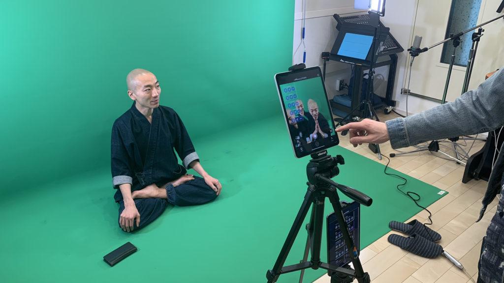 ヒューマンビートボクサー・赤坂陽月さんとARアプリのプロモーション撮影を行いました!
