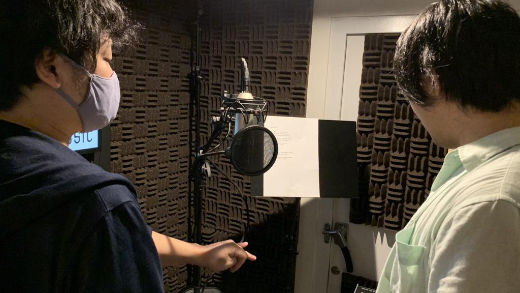 ナレーターアフレコ編の次は、ボーカルREC編も撮影して公開を準備中です。